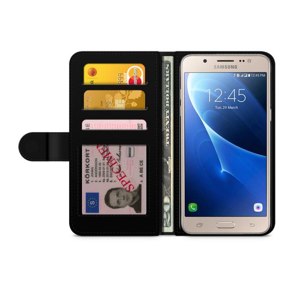 Bjornberry Fodral Samsung Galaxy J5 (2016)- Julmönster