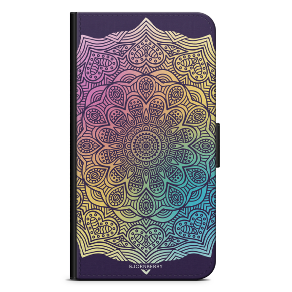 Bjornberry Fodral Samsung Galaxy J7 (2017)- Färg Mandala