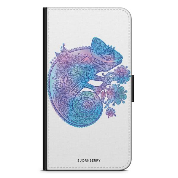 Bjornberry Fodral Samsung Galaxy J7 (2017)- Mandala kameleont