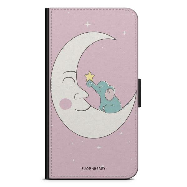 Bjornberry Fodral Samsung Galaxy Note 4 - Elefant Måne