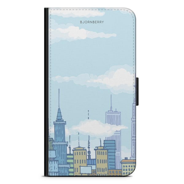 Bjornberry Fodral Samsung Galaxy Note 4 - Tecknad Skyline