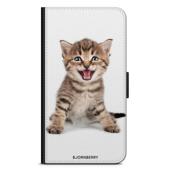 Bjornberry Fodral Samsung Galaxy S10 - Söt Kattunge