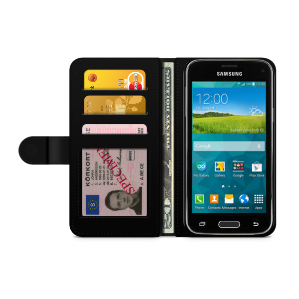 Bjornberry Fodral Samsung Galaxy S5 mini - Hustle Vit