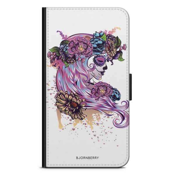 Bjornberry Fodral Samsung Galaxy S6 Edge+ - Döskalle Tjej