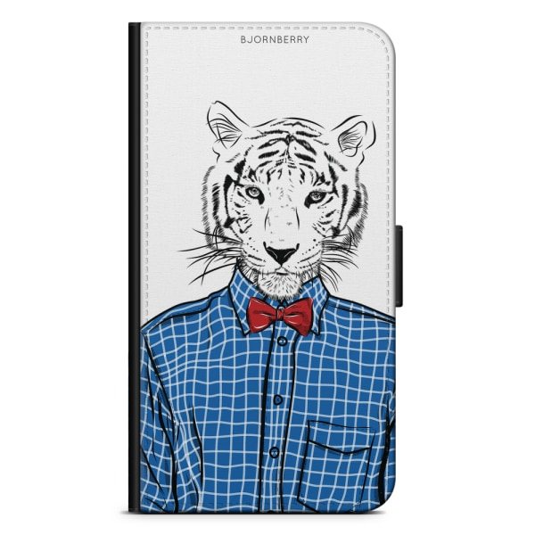 Bjornberry Fodral Samsung Galaxy S6 Edge+ - Hipster Tiger