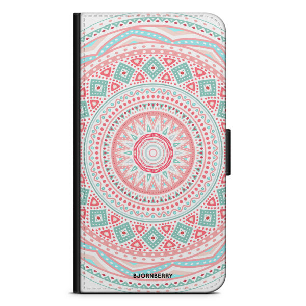 Bjornberry Fodral Samsung Galaxy S6 Edge - Pastell Mandala
