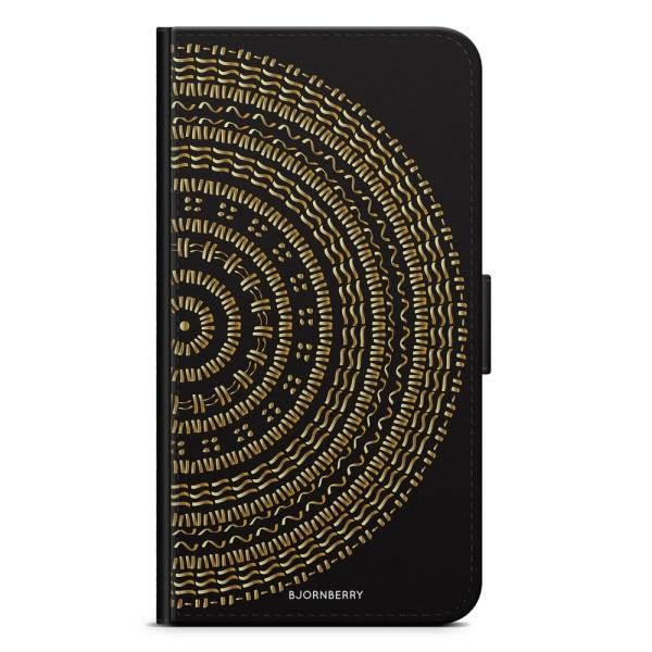 Bjornberry Fodral Samsung Galaxy S9 - Mandala Guld/Svart