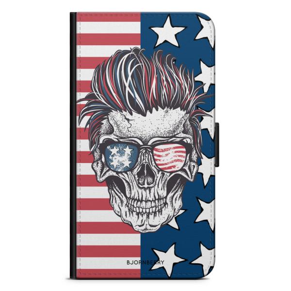 Bjornberry Fodral Samsung Galaxy S9 Plus - USA Dödskalle