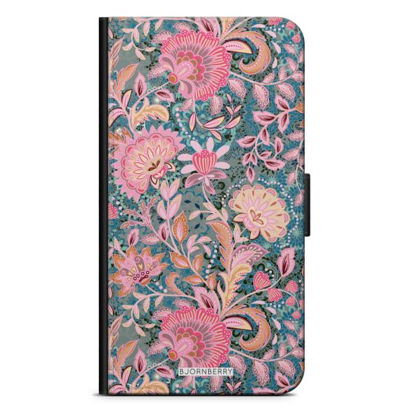 Bjornberry Fodral Sony Xperia M4 Aqua - Fantasy Flowers