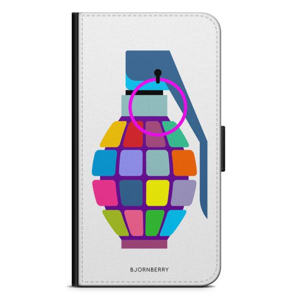 Bjornberry Fodral Sony Xperia M4 Aqua - Färg Handgranat
