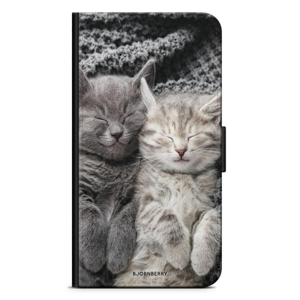 Bjornberry Fodral Sony Xperia M4 Aqua - Vilande Katter