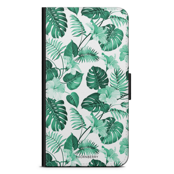 Bjornberry Fodral Sony Xperia X Compact - Blommor Turkos