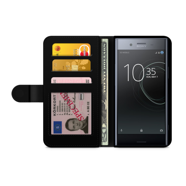 Bjornberry Fodral Sony Xperia XZ Premium - Damask