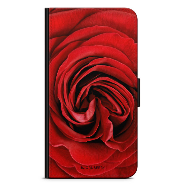 Bjornberry Fodral Sony Xperia XZ Premium - Röd Ros