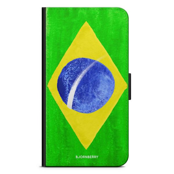 Bjornberry Fodral Sony Xperia XZ2 Compact - Brasiliens Flagga