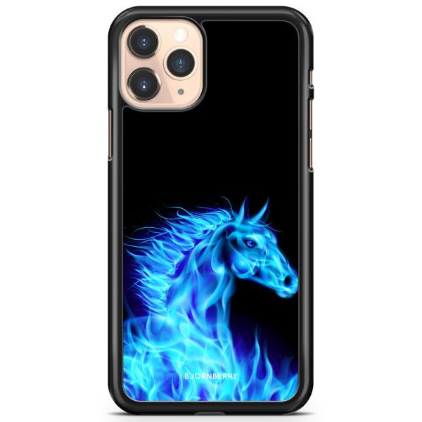 Bjornberry Hårdskal iPhone 11 Pro - Flames Horse Blå