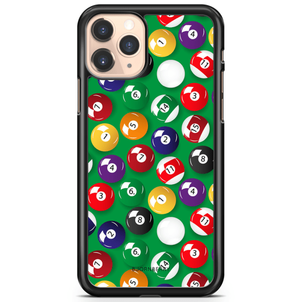 Bjornberry Hårdskal iPhone 11 Pro Max - Biljardbollar