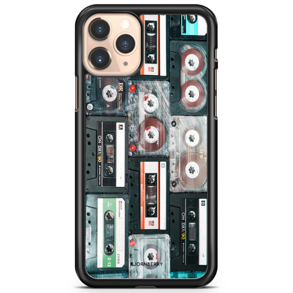 Bjornberry Hårdskal iPhone 11 Pro Max - Kassettband