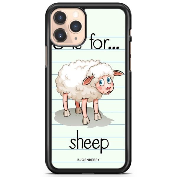 Bjornberry Hårdskal iPhone 11 Pro Max - S is for Sheep