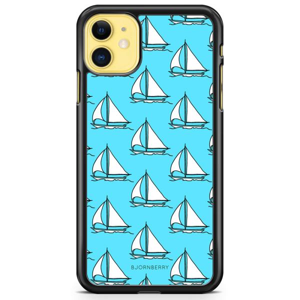 Bjornberry Hårdskal iPhone 11 - Segelbåts Mönster