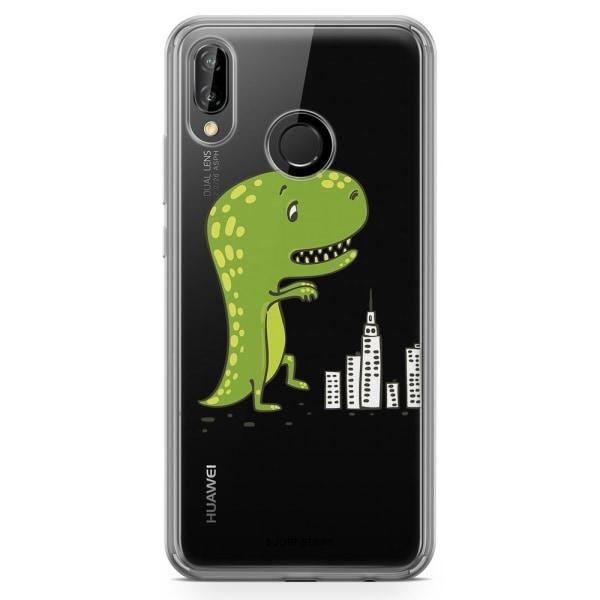 Bjornberry Hybrid Skal Huawei P20 Lite - Dinosaurie