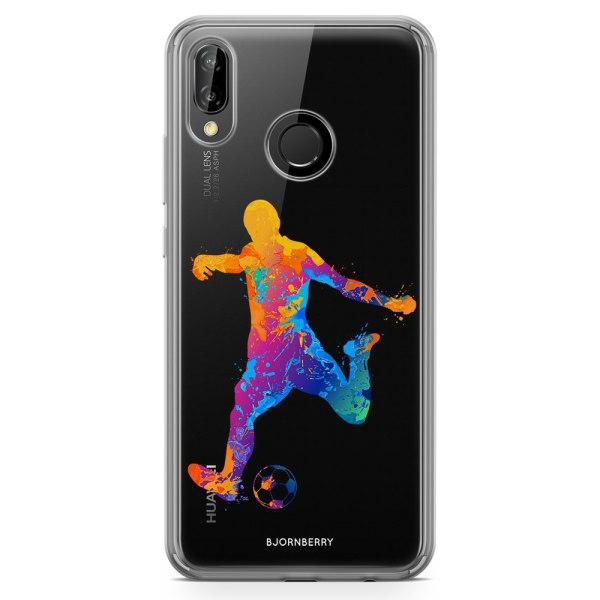 Bjornberry Hybrid Skal Huawei P20 Lite - Fotboll