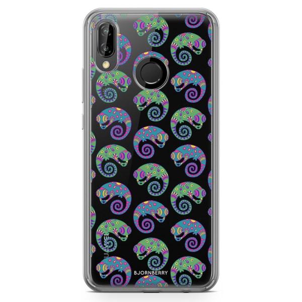 Bjornberry Hybrid Skal Huawei P20 Lite - Ödlor