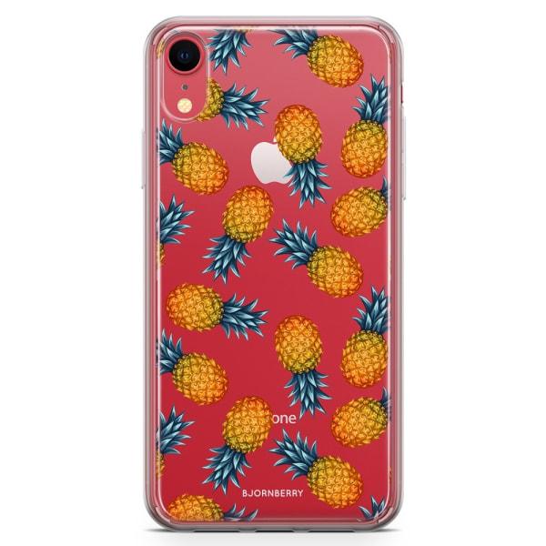 Bjornberry Hybrid Skal iPhone XR  - Ananas