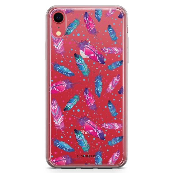Bjornberry Hybrid Skal iPhone XR  - Fjädrar