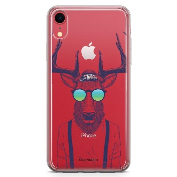 Bjornberry Hybrid Skal iPhone XR  - Hipster Älg