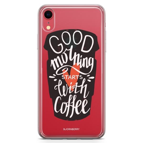 Bjornberry Hybrid Skal iPhone XR  - Kaffe