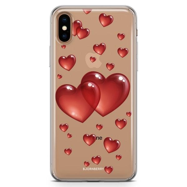Bjornberry Hybrid Skal iPhone Xs Max  - Hjärtan