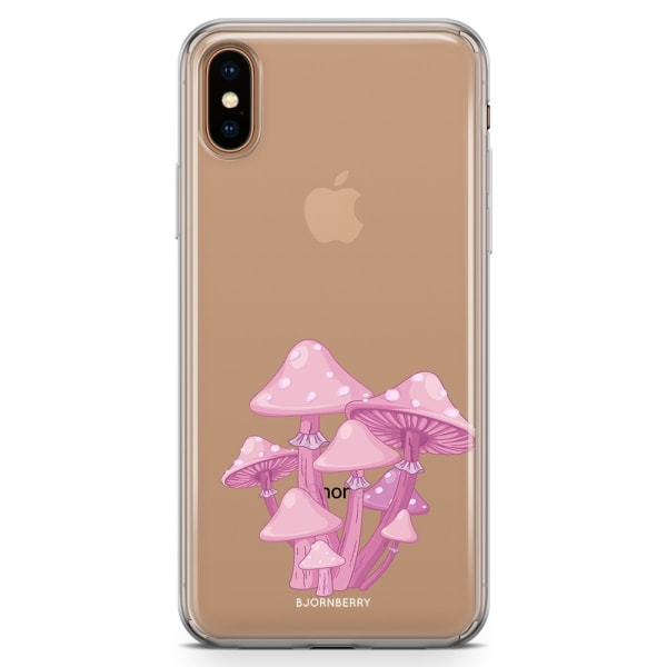 Bjornberry Hybrid Skal iPhone Xs Max  - Magic Mushroom