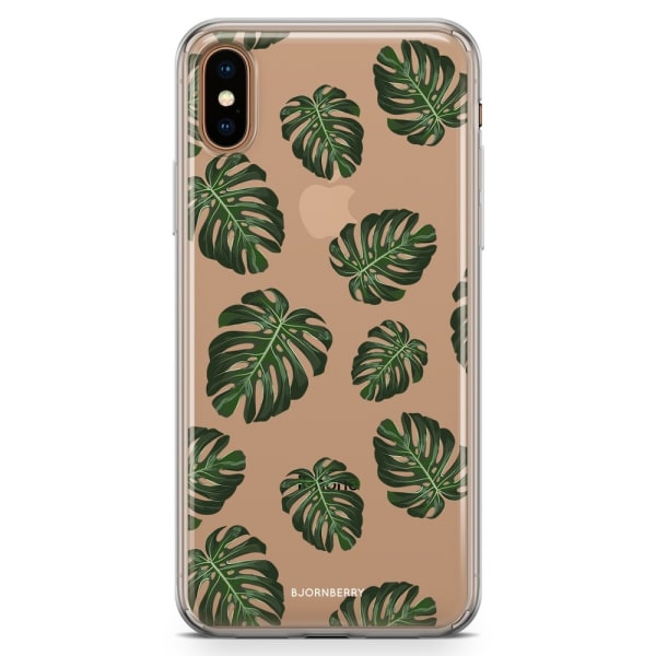 Bjornberry Hybrid Skal iPhone Xs Max  - Monstera