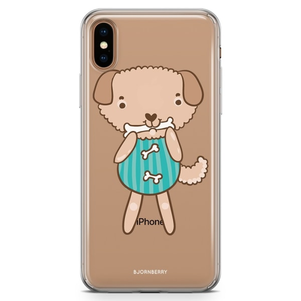 Bjornberry Hybrid Skal iPhone Xs Max  - Söt Hund