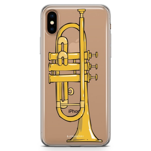 Bjornberry Hybrid Skal iPhone Xs Max  - Trumpet