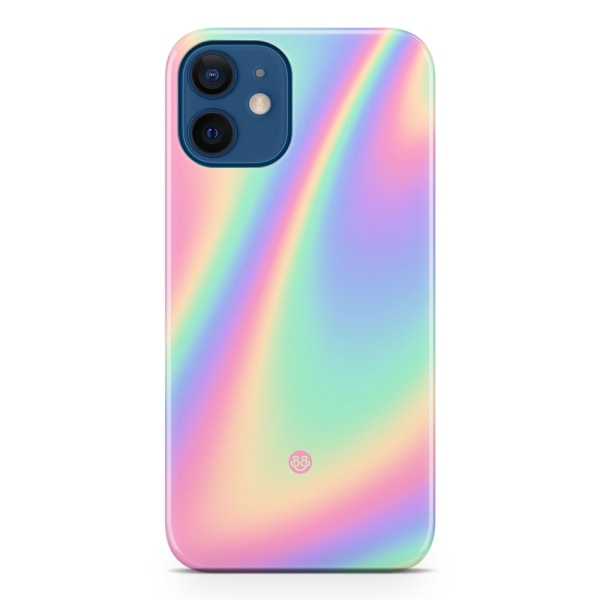 Bjornberry iPhone 12 Mini Premiumskal - Rainbow