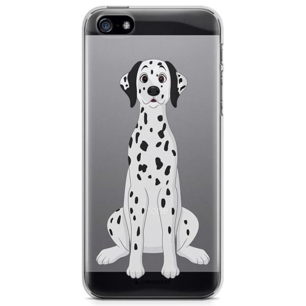 Bjornberry iPhone 5/5S/SE TPU Skal - Dalmatiner