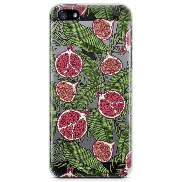 Bjornberry iPhone 5/5S/SE TPU Skal - Granatäpple