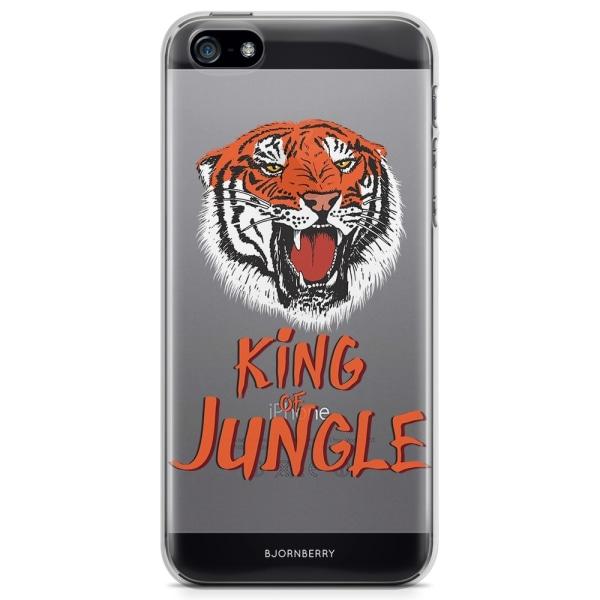 Bjornberry iPhone 5/5S/SE TPU Skal - King of Jungle