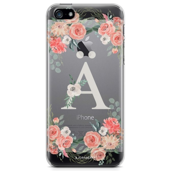 Bjornberry iPhone 5/5S/SE TPU Skal - Monogram Ä