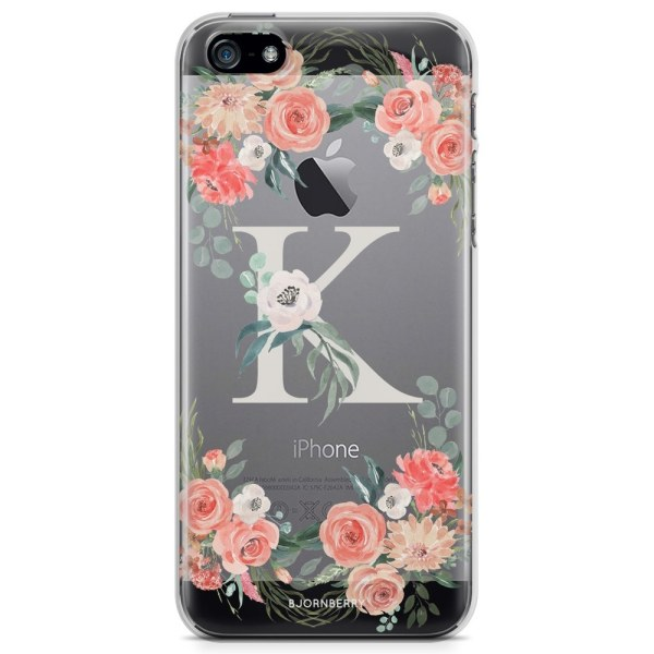 Bjornberry iPhone 5/5S/SE TPU Skal - Monogram K