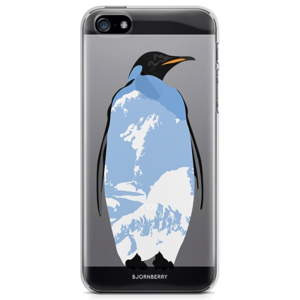 Bjornberry iPhone 5/5S/SE TPU Skal - Pingvin