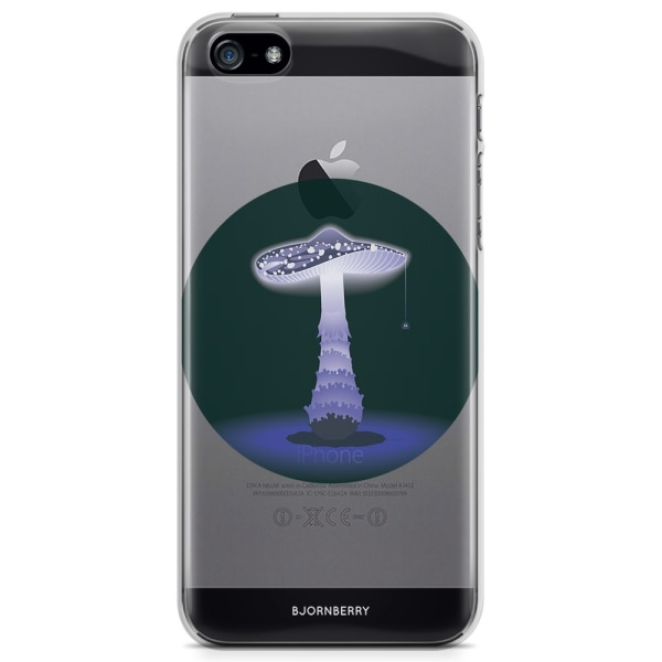 Bjornberry iPhone 5/5S/SE TPU Skal - Svamp