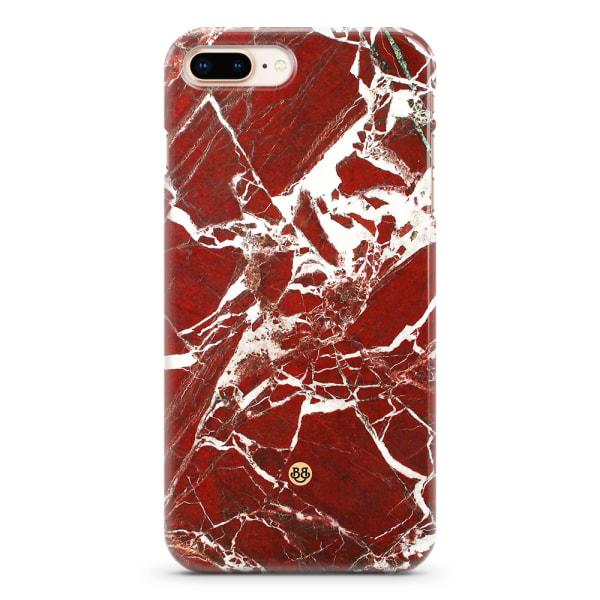 Bjornberry iPhone 6/6s Plus Premium Skal - Red Marble