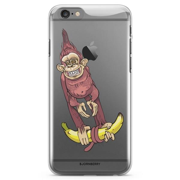 Bjornberry iPhone 6/6s TPU Skal - Apa