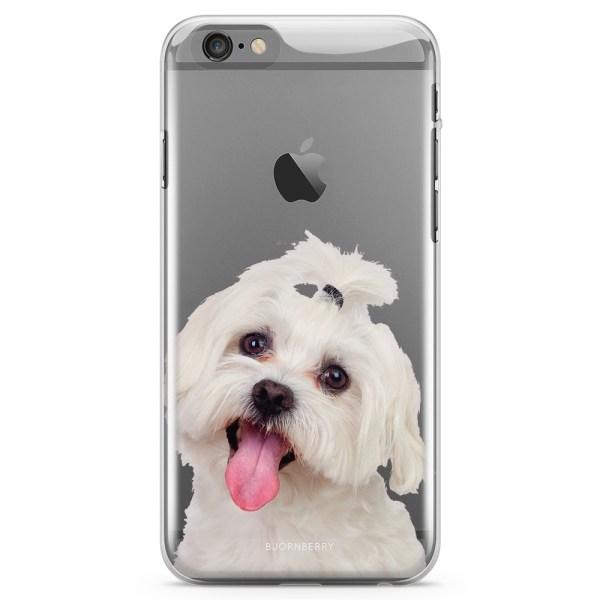 Bjornberry iPhone 6/6s TPU Skal - Bichon Frisé