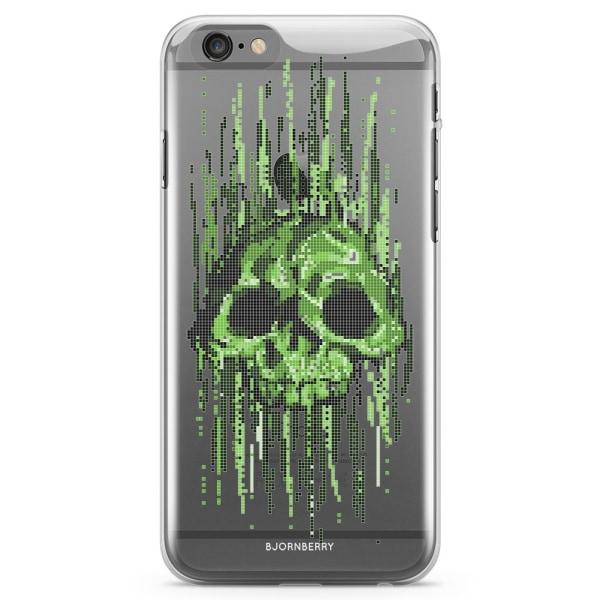 Bjornberry iPhone 6/6s TPU Skal - Data Virus Döskalle