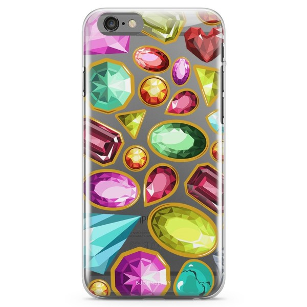 Bjornberry iPhone 6/6s TPU Skal - Diamanter