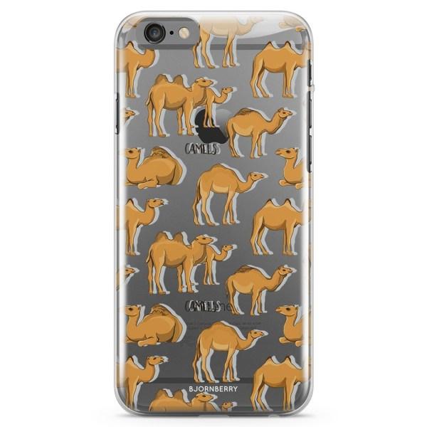 Bjornberry iPhone 6/6s TPU Skal - Kameler